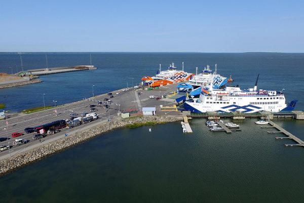 Der Hafen Virtsu