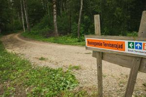 Kuningamäe health trails