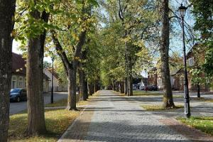 A walk in Võru city