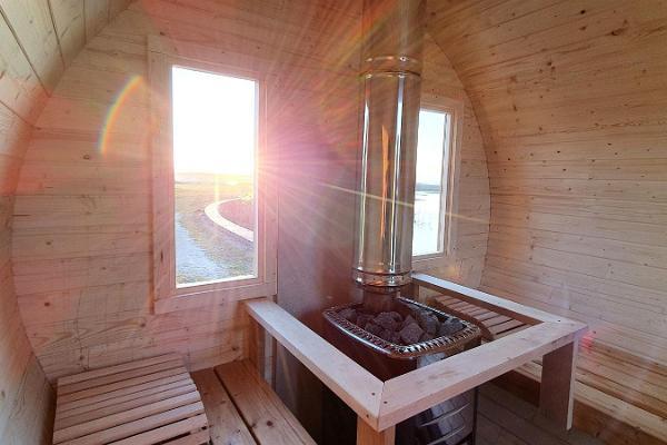 Perävaunusaunan ja kylpytynnyrin vuokraus Läänemaalla