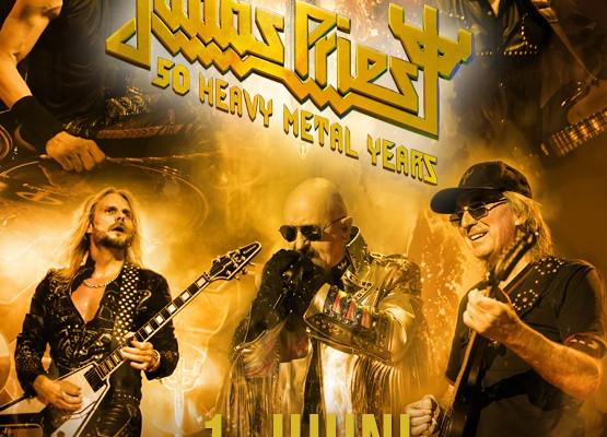 "Judas Priest konsert ""50 heavy metal years"""