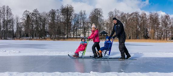 Viron talvipääkaupunki Otepää