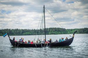 """Voyages on the Viking ship """"Turm"""""""