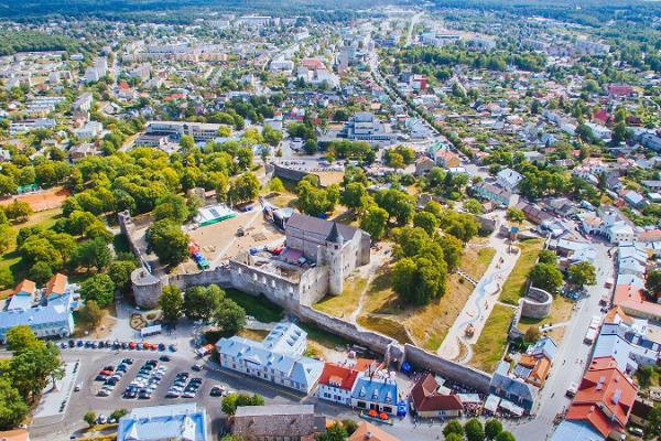 Die Altstadt Haapsalu
