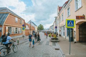 Gamla stan i Hapsal (Haapsalu)