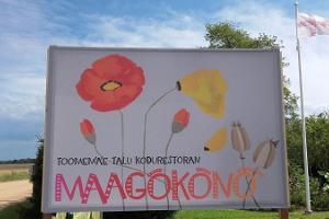 """Saimniecības """"Toomemäe"""" mājas restorāns """"Maagõkõnõ"""""""