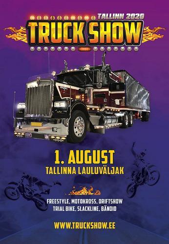 Taiteellisesti suunniteltujen ja tuunattujen rekkojen show-näyttely Tallinn Truck Show