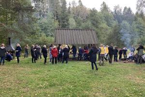 Short survival course in Pääsküla bog