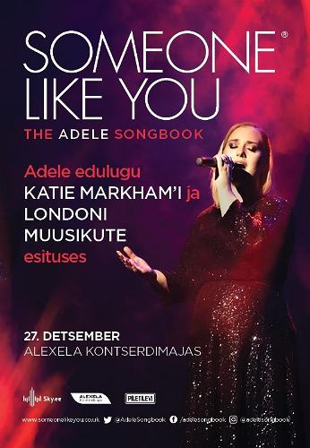 "Katie Merkhami kontsert ""Someone Like You"""