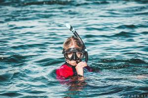 Paekalda Puhkekeskuse parvega snorgeldamine Rummu karjääris