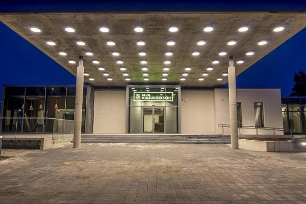 Elva kulturcentrums seminarie- och konsertsal