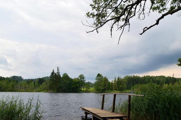 Lake Kavadi and Häälimägi hill