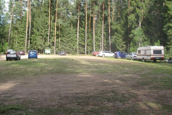 Zeltplatz Palojärve der Staatlichen Forstverwaltung