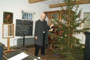 """Palamuse O.Lutsu Kihelkonnakoolimuuseumi külastusprogramm """"Koolitund teise talve lastele"""""""