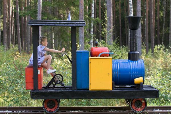 Поезд-музей Авинурме