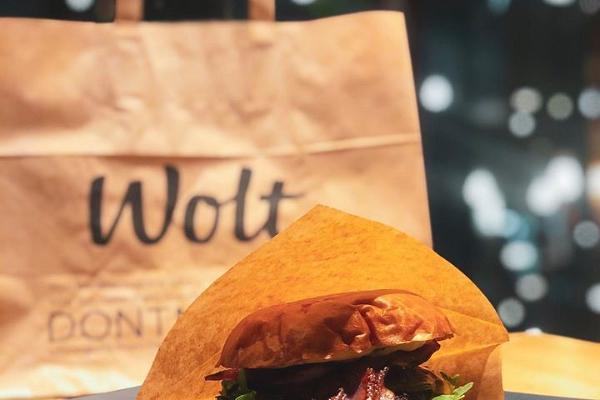 Tartu Uulits, ytterst läckra hamburgare som man kan beställa med Wolt