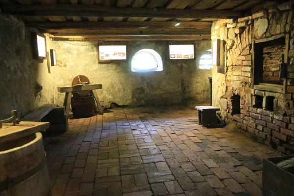 Cigoriņu muzejs Peipusa reģiona Apmeklētāju centra pagrabstāvā