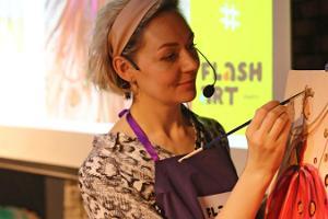 Flash Art - pirmās mākslas ballītes Tallinā!