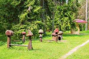 Mushroom Country, a playground in Elva