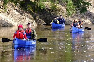 High water adventures on Peetri River