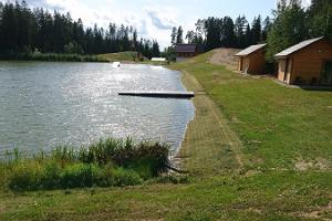 Camping houses and camping at Metsjärve Holiday House