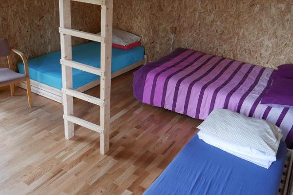 Camping houses and camping at Metsjärve Holiday House