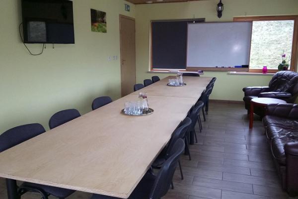 Metsjärve puhkemaja seminariruum