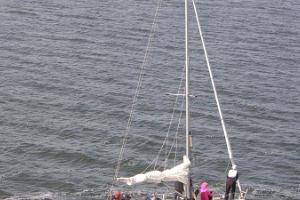 Päivä Vormsin saarella - purjevene + UAZ