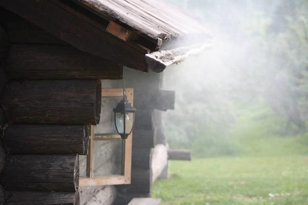 Pedaja Puhketalu suitsusaun, kümblustünn ja autosaun