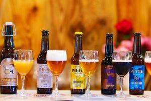 Bierstube der Brauerei Pihtla