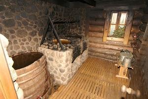Uhtjerves ezera Senlejas Raganu valsts dūmu sauna