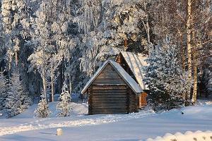 Saunas des Hämsaare Ferienhauses