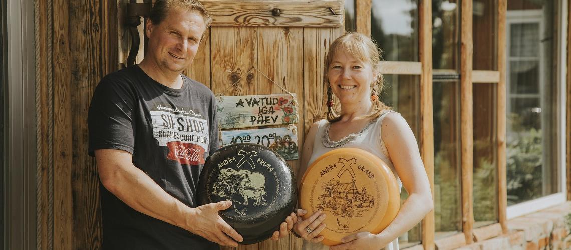 Andre juustufarm Lõuna-Eestis, Visit Estonia