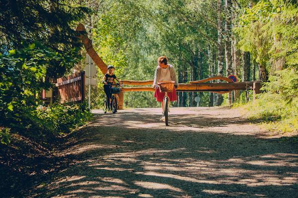 Rollerwanderung in Taevaskoda