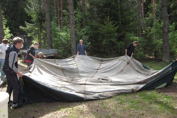 Metsäseikkailu lapsille Pohjois-Kõrvemaalla