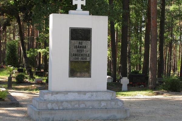 Vabadussõjas langenute kalmistu ja mälestussammas Võru surnuaias