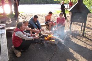 Forest adventure for children in Northern Kõrvemaa