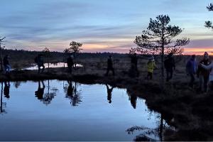 Походы на болотоступах в Пыхья-Кырвемаа