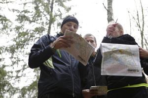 Orientierungslauf in Nord-Kõrvemaa