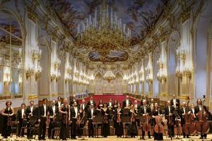 Šēnbrunnas pils orķestra Lielais Vīnes Jaungada koncerts Tartu