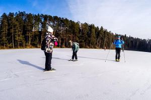 Schlittschuh-wanderungen in Kõrvemaa