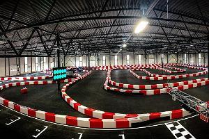 Go-Kart-Halle des Lange-Motorzentrums