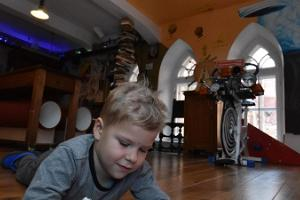 Crazy Scientist's Office at the University of Tartu Museum