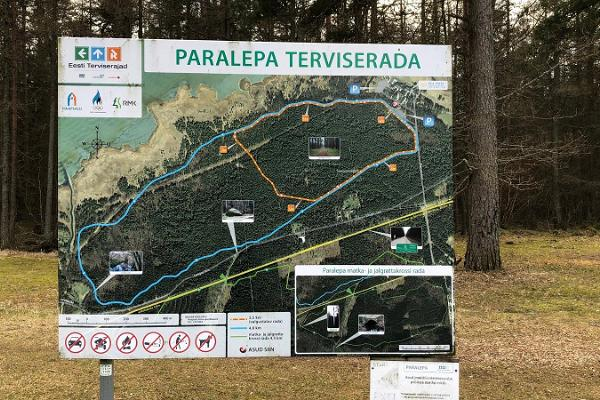 Paralepa outdoor gym