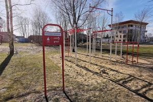 Pilli Park outdoor gym in Pärnu