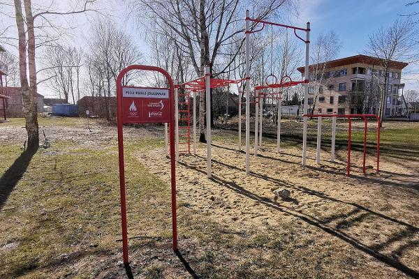 Pilli parks utomhusgym i Pärnu