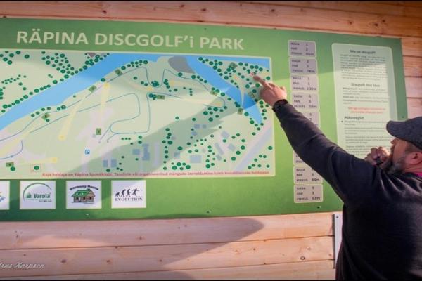 Räpina disc golf park