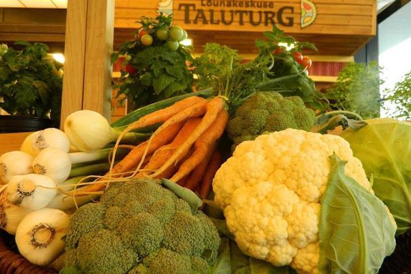 Bauernmarkt in Lõunakeskus