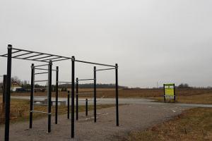 Jõhvi Edise outdoor gym