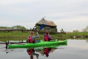 Kanoottiretki ja kajakkiretki Matsalun kansallispuistossa
